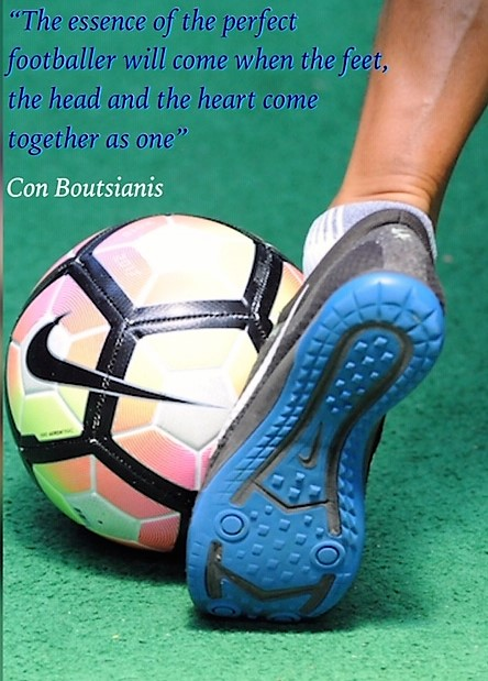 Football First by Con Boutsianis