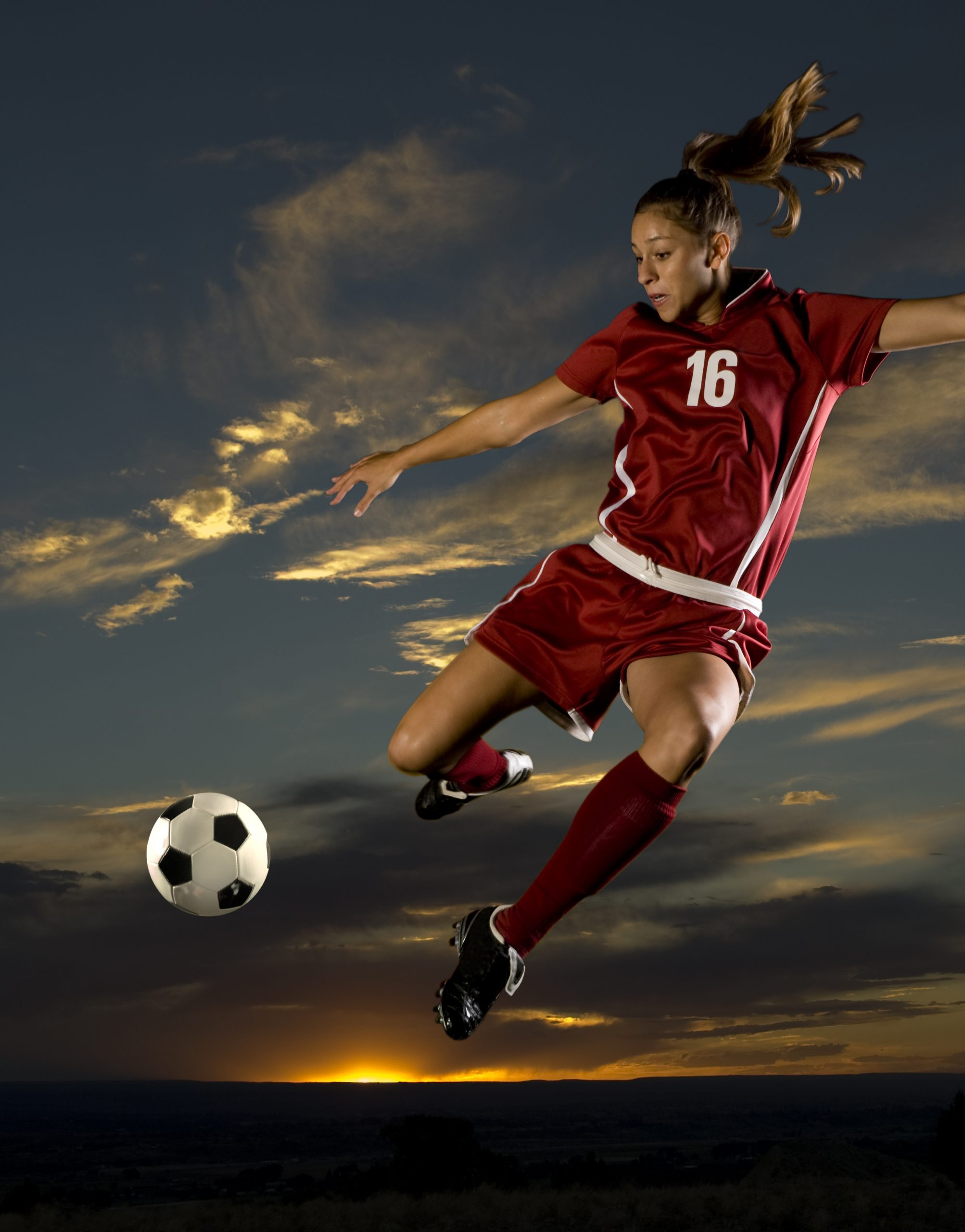 Soccer Girls by Con Boutsianis